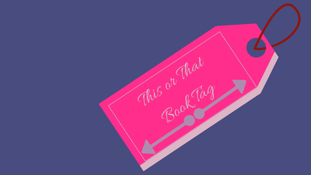 This or That Book Tag-Featured Image-Purple Shelf Club