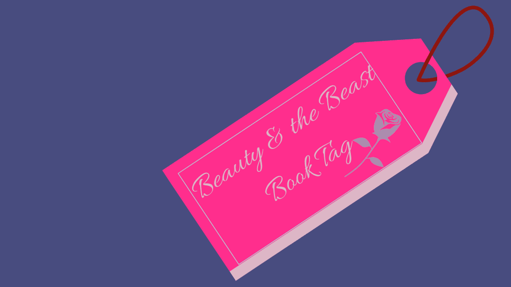 Beauty and the beast Book tag-Featured Image-Purple Shelf Club