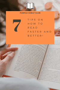 7 tips on how to read faster and better-pin-purple shelf club