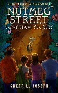 Egyptian Street: Eqyptian Secrets Book Cover-Purple Shelf Club